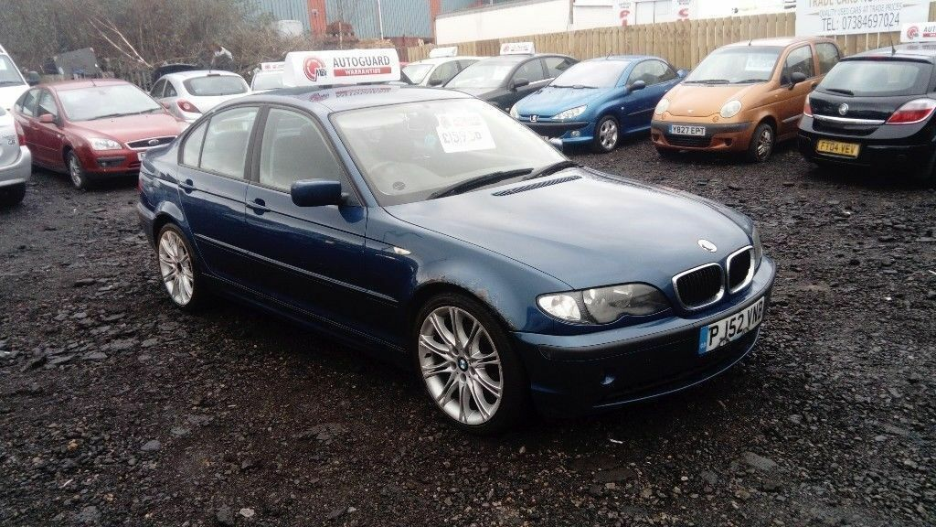 2002 52 BMW 320d SE FULL MOT GREAT