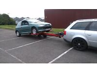 HYDRAULIC RECOVERY TOW DOLLY