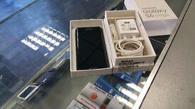 SAVE £269! (RECEIPT) LIKE New BOXED UL Samsung Galaxy S6 EDGE **64GB** BLACK