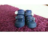 Baby girls clarks shoes and boots 3.5f