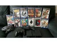 Ps2 with 11 game and buzz controllers brand new all leads and pad