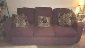 3 and 2 seater Sofa - FREE