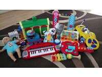Large selection of toys