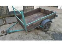 Car trailer (quad, lawnmower, garden)