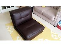 Leather sofa bed brand new