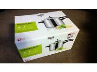 kuhn rikon duromatic ergo power steamer 5 litre - Brand New In Box! RRP: £149.99 only £80 !