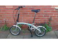 Adults Proteam folding bike Good working condition and ready to ride