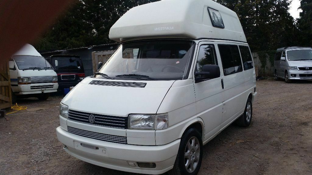 rust free vw transporter t4 westfalia high top 4 berth automatic petrol lez lhd campervan. Black Bedroom Furniture Sets. Home Design Ideas