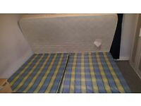 Mattress Double very good condition with double bed