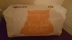 15 tog king size synthetic duver