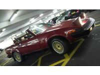 tr7 / tr8 3.5 v8 convesion 5 speed . classic ca. tax exempt