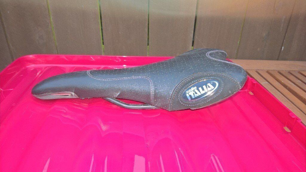 selle italia cycle seat bike saddle good condition two to choose from