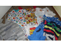 For sale bundle of up to 1 mths and new born clothing