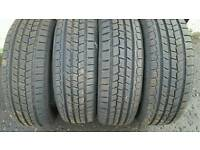 4 x nexen winter tyres 195 x 65 x 15 golf