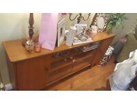 Vintage Retro Sideboard Side Board Dresser Cocktail Cabinet