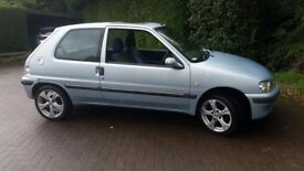 breaking for parts peugeot 106 2001 1.1