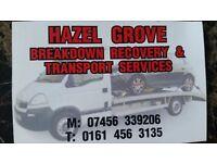 Hazel Grove Break down Recovery & Transport Services