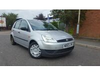 2002 Ford Fiesta 1.4 TDCI LX 5 Door Hatchback £30 Year Tax! Excellent MPG Turbo Diesel 206 Corsa