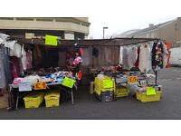 10x15ft MARKET STALL Carboot sale with cover +CLIPS+BRACKETS