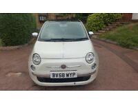 Fiat 500 1.2 Lounge 5 Speed Manual 2008
