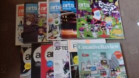 Selection of Computer Arts Magazines