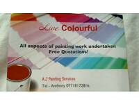 A.J Painting Services.
