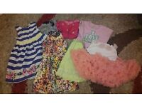 Summer clothes age 4-5.