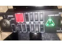 PC computer Mad catz Saitek switch cockpit panel for fsx, Flight simulator world and x plane