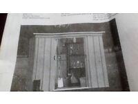 8x4 metal shed