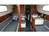 31' Comfortable Liveaboard ,re engined, refitted.£14950 just reduced