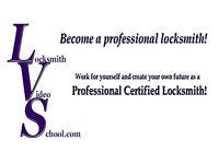 Locksmith Training Video School DVDs