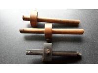3 Antique Wodworking Marker Gauges