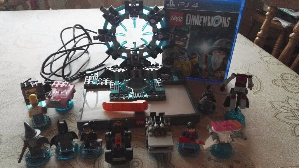 Lego Dimensions Ps4 Starter Pack Plus Extra Packs