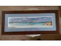 Solid Oak Framed Picture