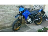 Yamaha xt125 supermoto swap