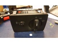 FORD FIESTA MK6 02-08 HEADLIGHT FOG LIGHT CONTROL SWITCH DIAL UNIT 6S6T13A024FA
