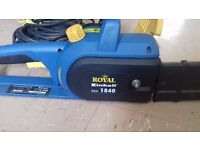FOR SALE: Electric Chainsaw 1800W - 240V ....Full Working Order....Priced £45ono