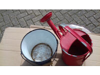 Childs Watering Can and Bucket.