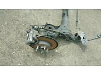 VAUXHALL ASTRA K PETROL 2017 REAR AXLE COMPLETE