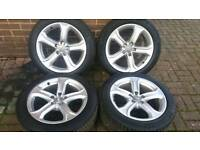 GENUINE AUDI 17 INCH ALLOY WHEELS 5X112 VW A3 A4 A5 A6 GOLF PASSAT VITO VANEO T4 SEAT