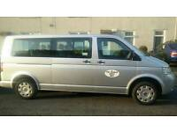 Private Hire Car for rent (8 seater VW Transporter)