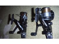 Two as new shimano 5000 GTE Fishing reels 5000GTE
