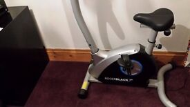 Roger Black Silver Exercise Bike