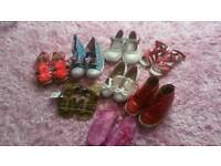 Girls shoes size 11-12. 8 pairs