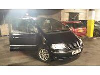 VW SHARAN 7 SEATER V6 HALF LEATHER 2.8 PETROL NEW MOT CLEAN CAR