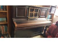 Piano Berry London - Iron Frame, will need a tune.