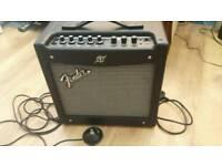 Fender Mustang 20w Amplifier c/w footswitch