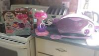 easy bake oven with mixer