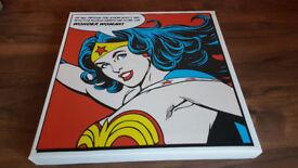 Wonder Woman Canvas Print Marvel DC Comics Bargain