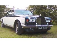 Please Read First Rolls Royce Silver Shadow 1 Tax Exempt 1970 Lots of History V5 + DOCUMENTS ONLY!